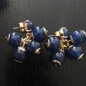 Jcrew acrylic drop bauble earrings